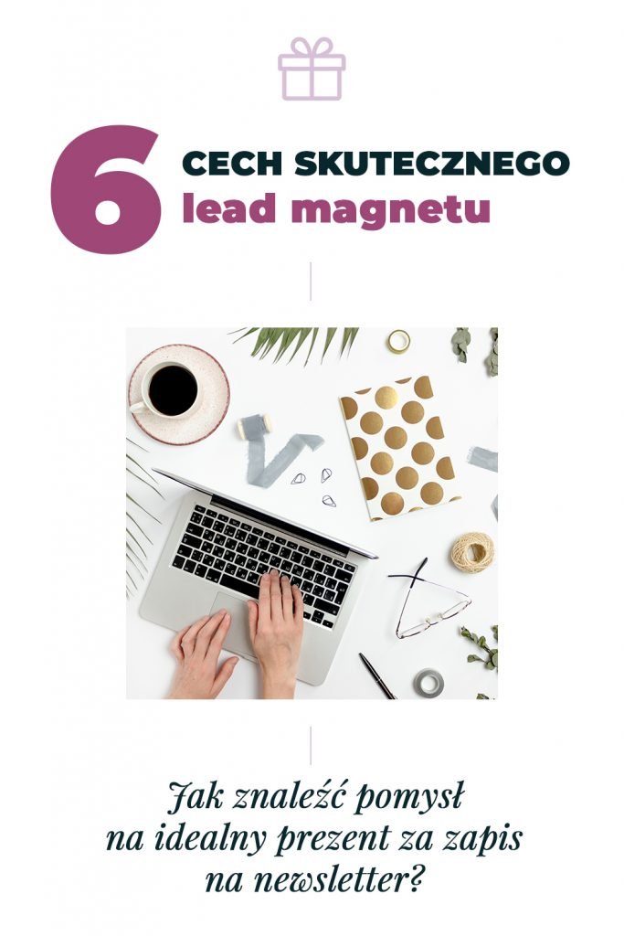 cechy lead magnetu pomysł na prezent za zapis na newsleter