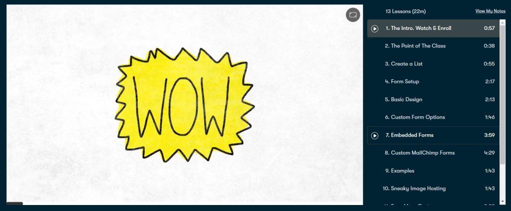 pomysły nanewsletter inspiracja skillshare blog obiznesie