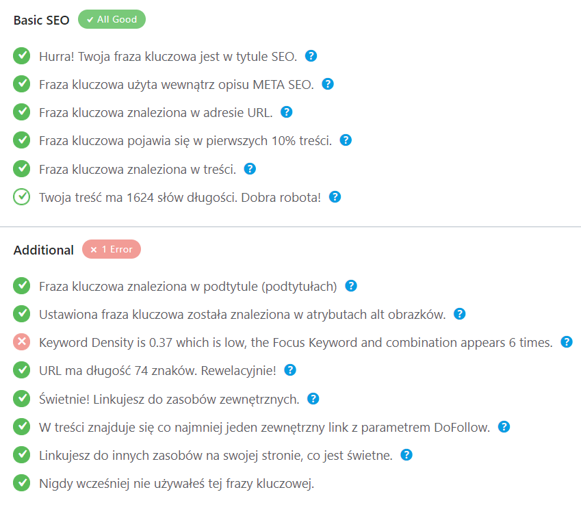 wtyczka Rank Math Seo pozycjonowanie bloga WordPress