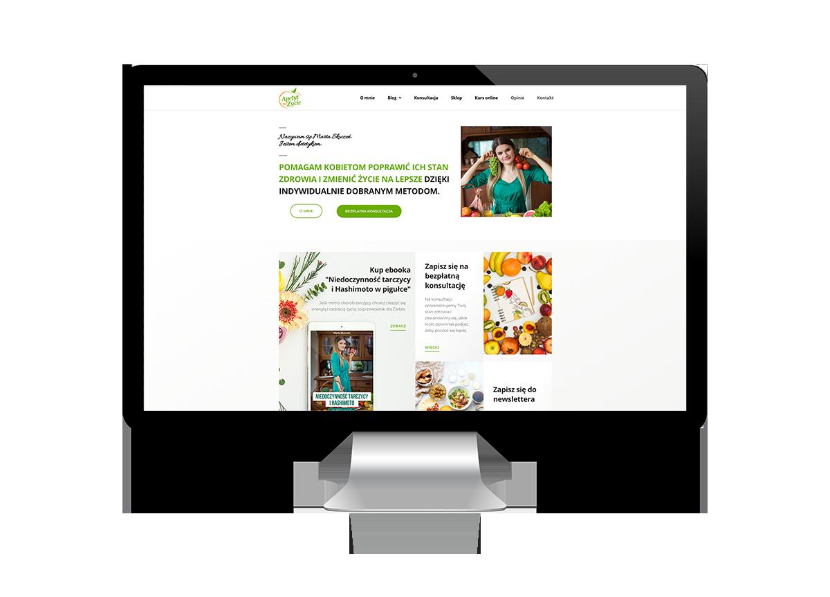 kobiece strony internetowe - kobieca strona biznesu - apetyt na życie