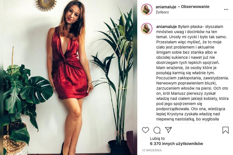 ania maluje, zaangażowanie w mediach społecznościowych, budowanie społeczności - kobieca strona biznesu