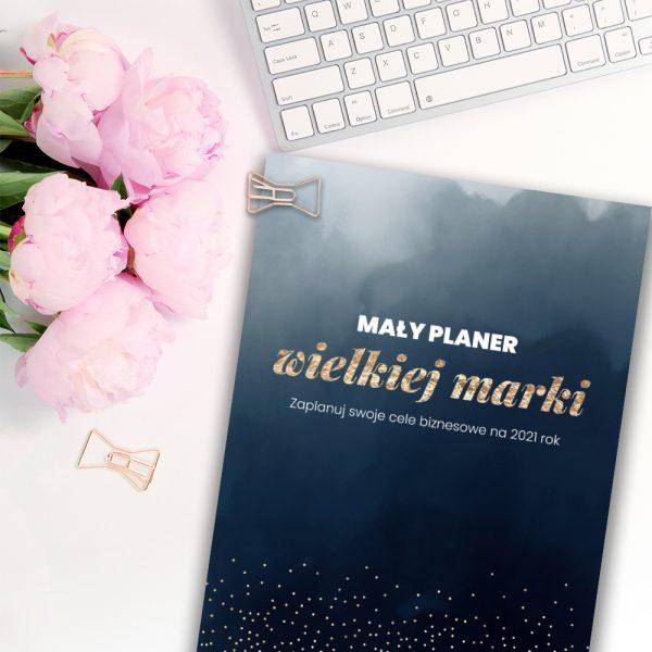 mały planer wielkiej marki - planer, planner pdf, ebook o planowaniu - kobieca strona biznesu